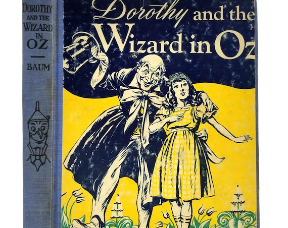 Dorothy and the Wizard in Oz by L. Frank Baum illustrated by John R. Neill Hardcover HC 1908 Reilly & Lee