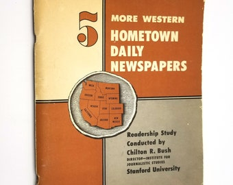 More Western Hometown Daily Newspapers Readership Study #5 - 1949