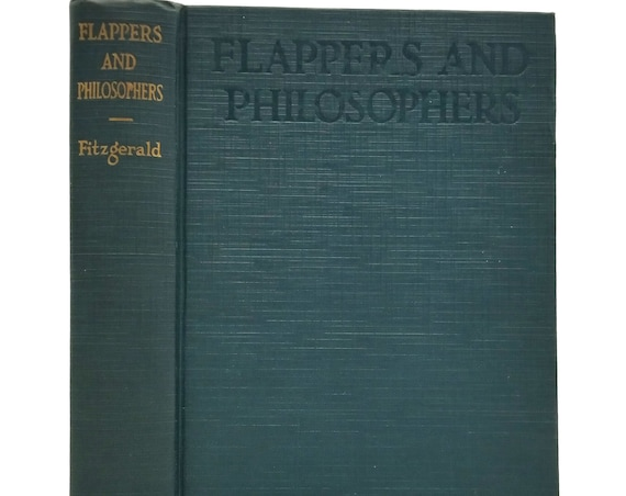 Flappers and Philosophers by F. Scott Fitzgerald 1920 Early Printing Hardcover HC - Charles Scribner's Sons