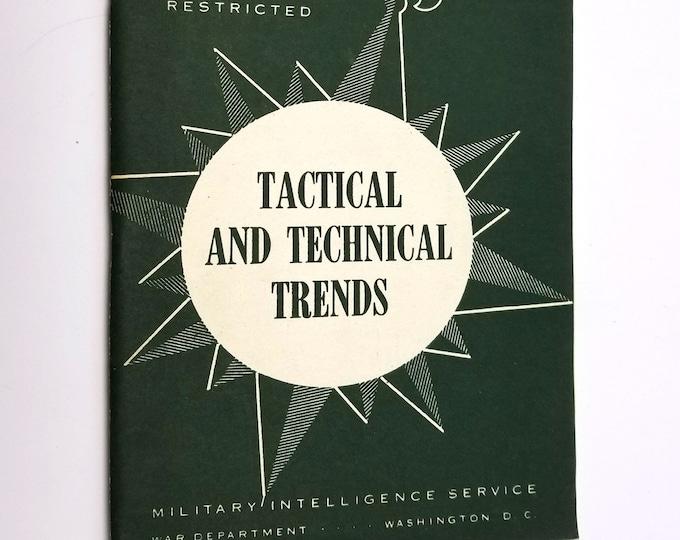 Tactical and Technical Trends (Journal) Number 53 December 1944 World War II / WWII US War Department