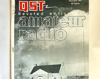 QST: Devoted Entirely to Amateur Radio Volume LI, Number 1, January 1967 Magazine