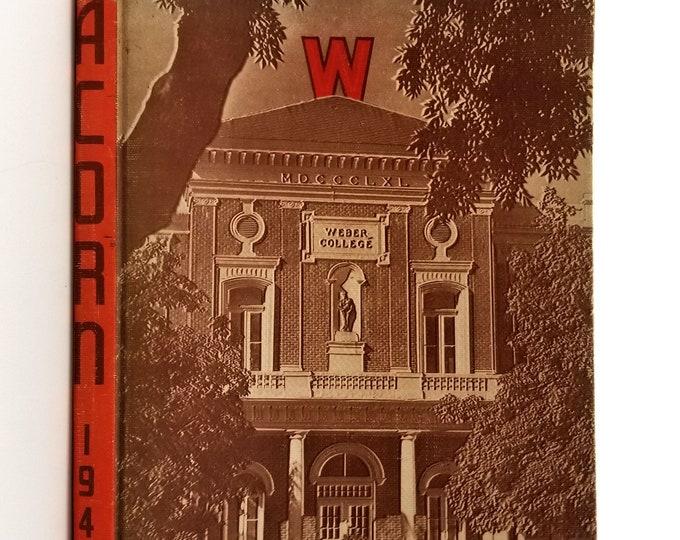 Weber College Yearbook (Annual) 1948 - The Acorn Ogden, Utah, UT, Weber County