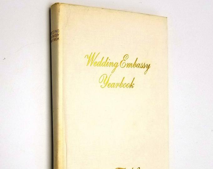 Vintage Wedding Planning Guide: Wedding Embassy Yearbook Hardcover Meier & Frank Department Stores 1966 Pacific Northwest Portland Seattle