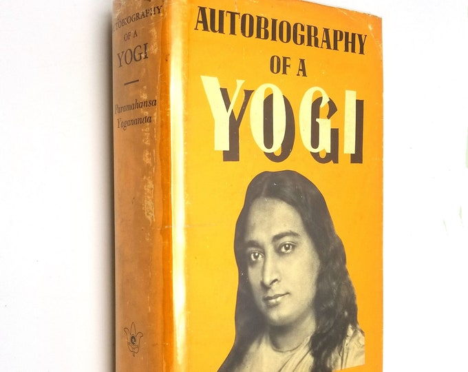 Autobiography of a Yogi by Paramahansa Yogananda 10th Edition Hardcover HC w/ Dust Jacket DJ 1969 Self Realization Fellowship