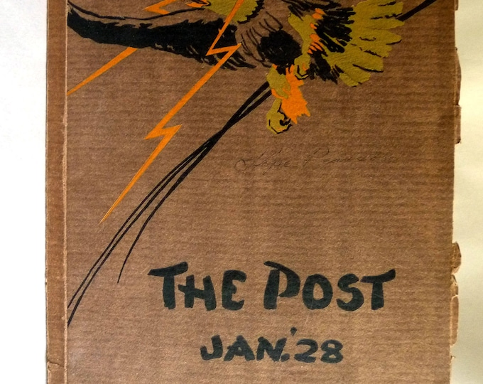 Franklin High School Yearbook (Annual) - The Post - American Indian Edition Jan '28 - Portland, Oregon Multnomah County
