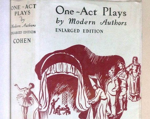 One-Act Plays 1966 by Helen Louise Cohen - Hardcover HC w/ Dust Jacket DJ - Drama Theater Acting