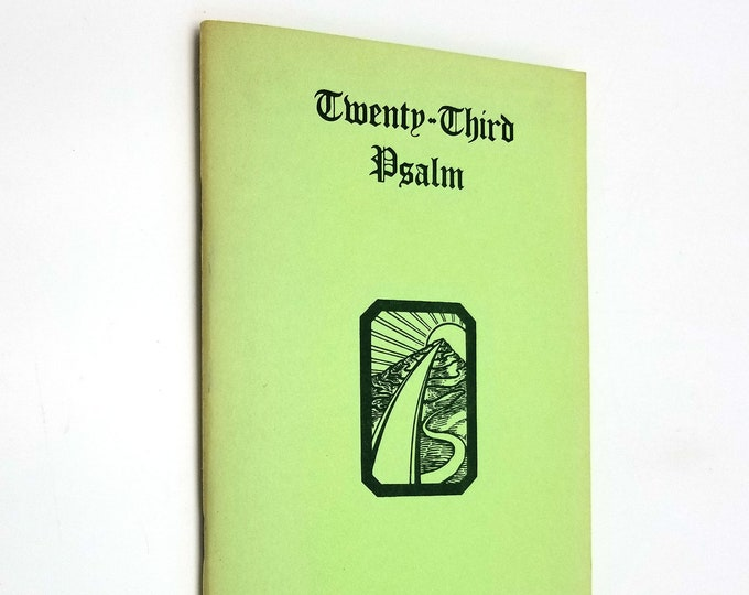 Twenty-Third Psalm by Donald Curtis 1961 CSA Press New Thought Religion Spirituality