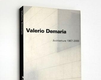 Valerio Demaria: Architetture 1967-2000 by Maurizio Cohen SIGNED 2000 Milan Architecture