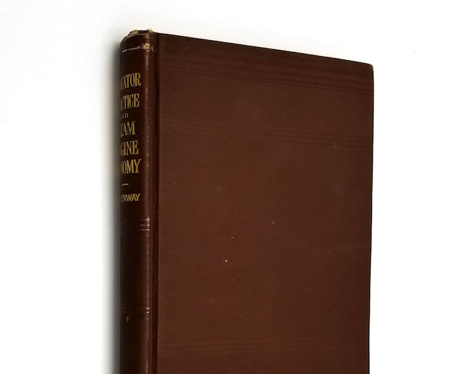 Antique Instruction Manual: Indicator Practice and Steam-Engine Economy by Frank F. Hemenway Hardcover 1889 John Wiley & Sons