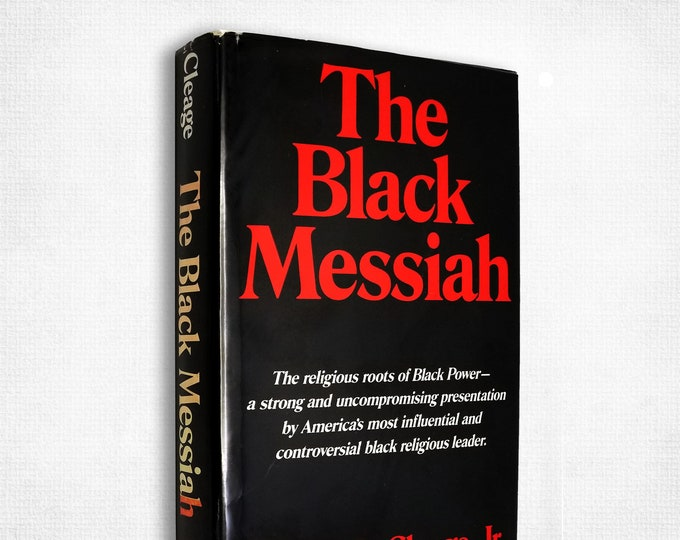 The Black Messiah by Albert B. Cleage 1st Edition Hardcover w/ Dust Jacket 1968 Sheed & Ward African American Studies Ex Library
