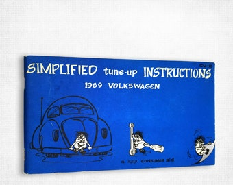 Simplified Tune-Up Instructions - 1969 Volkswagen Xyzyx Information Company 1st Printing
