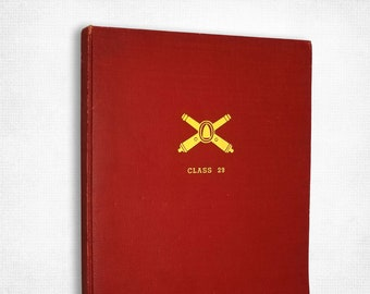 Officer Candidate School: Battery D - Class 29, 1944 (Fort Monroe, Hampton, Virginia) Yearbook - World War II Era