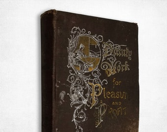Antique Editions: Dainty Work for Pleasure & Profit (Dainty Work of the Dainty Series) by Adelaide E. Heron (Addie) Hardcover 1904