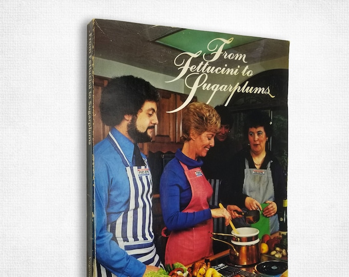 From Fettucini to Sugarplums: A Guided Tour with Virginia Plainfield 1st Ed 1977 Portland, Oregon Cookbook