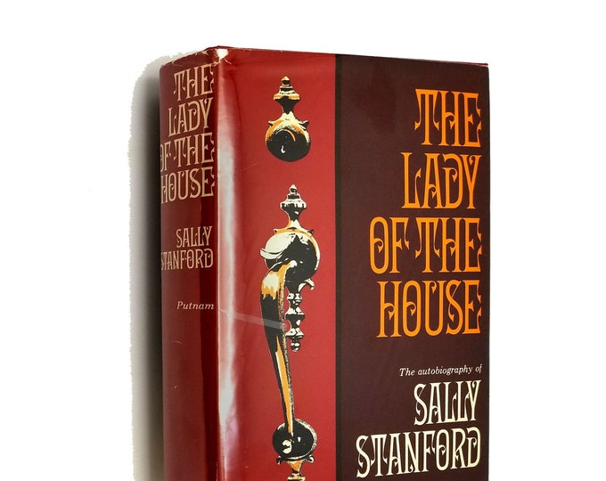The Lady of the House: The Autobiography of Sally Stanford Hardcover HC w/ Dust Jacket DJ 1966 Famous Madam
