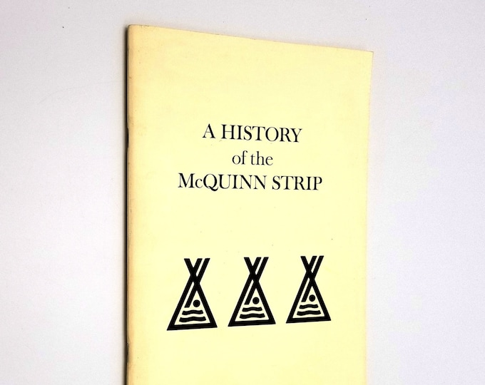 A History of the McQuinn Strip by Gordon MacNab 1972 Warm Springs Confederated Tribes Oregon
