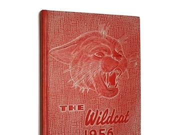 Columbia Falls High School Yearbook (Annual) 1956 - The Wildcat Montana MT Flathead County