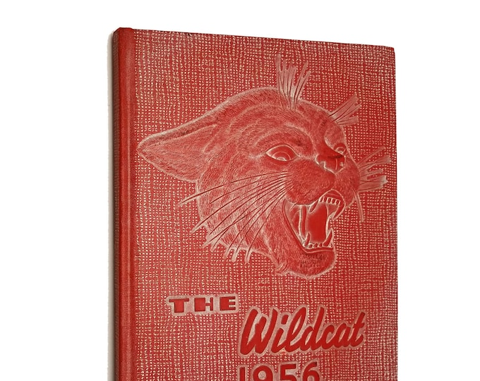 Columbia Falls High School Yearbook (Annual) 1956 - The Wildcat Montana MT Flathead County
