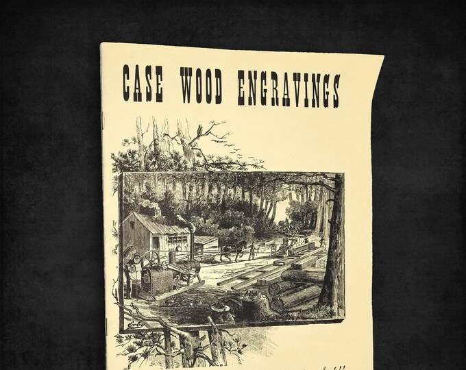 Case Wood Engravings: Reminders of a Past Art 1942 Catalog of Illustrations for Jerome Increase Case Co - Threshing Machines etc