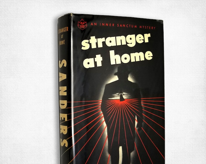 Vintage Fiction: Stranger at Home by George Sanders 1st Edition Hardcover w/ Dust Jacket 1946 Simon & Schuster