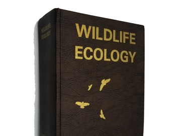Wildlife Ecology: A Guide to the Ecological Approach of Studying Wildlife of the Central US by Gary Twesten SIGNED 1st Ed Hardcover