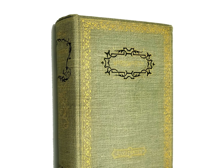 Antique Poetry Book: Poems of Wordsworth (Illustrated) by Matthew Arnold (ed) Hardcover HC 1892 Thomas Y. Crowell Company