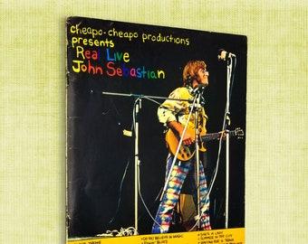 Cheapo-Cheapo Productions Presents Real Live John Sebastian Sheet Music Songbook 1971