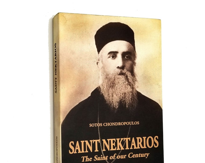 Saint Nektarios: The Saint of Our Century by Sotos Chondropoulos 2004 Paperback - Eastern Orthodoxy