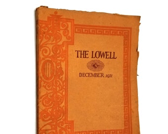 The Lowell - December 1921 Yearbook Commencement Issue (Lowell High School, San Francisco) California CA Annual