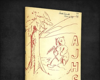 Altamont Junior High School 1957-1958 Yearbook Klamath Falls, Oregon