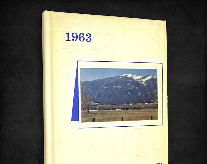 Stevensville High School 1963 Yearbook - Yellowjacket (Stevensville, Montana) Ravalli County