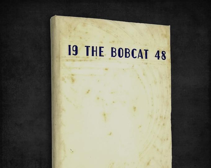 The Bobcat 1948 Yearbook - Burley High School (Idaho) Cassia, Minidoka County