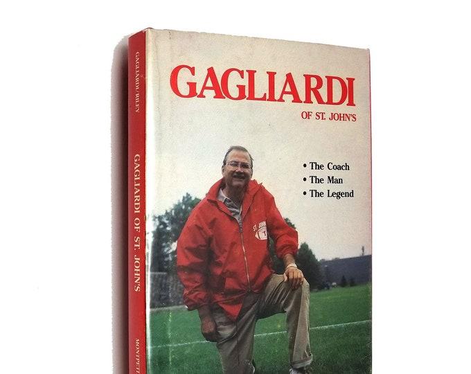 Gagliardi of St. John's: the Coach, the Man, the Legend Hardcover HC w/ Dust Jacket DJ Ca. 1984 College Football