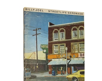 Streetlife Serenade (sheet music / songbook) Billy Joel 1975 Bradley Publications
