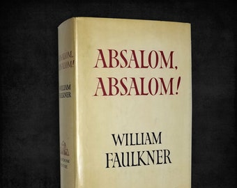 Absaolom, Absalom! by William Faulkner Hardcover w/ Dust Jacket 1964 Random House