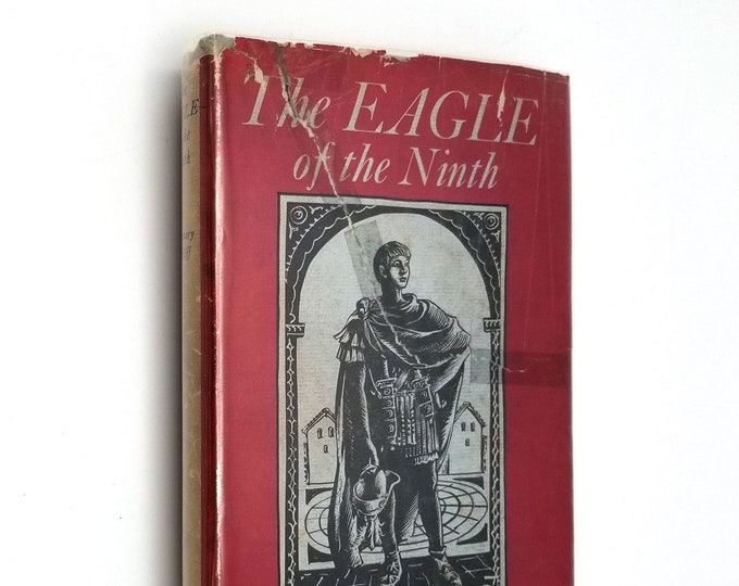 Eagle of the Ninth by Rosemary Sutcliff illustrated by C. Walter Hodges Hardcover 1st US Edition HC w/ Dust Jacket DJ 1954 Henry Z Walck Inc