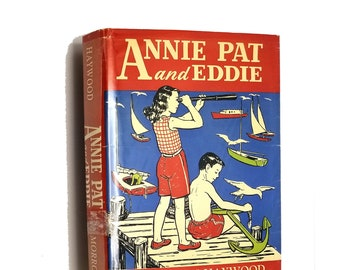 Vintage YA Fiction: Annie, Pat and Eddie by Carolyn Haywood Early Printing Hardcover HC w/ Dust Jacket DJ 1960 William Morrow & Co