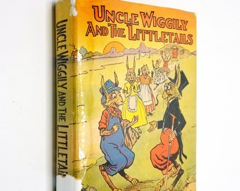 Uncle Wiggily and the Littletails by Howard R. Garis Illus. by Elmer Rache - 1942 Hardcover HC w/ Dust Jacket - Platt & Munk
