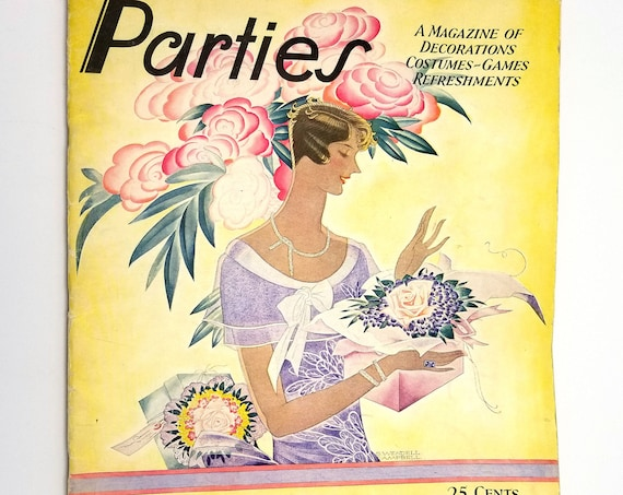 Parties - A Magazine of Decorations, Costumes, Games, Refreshments Vol. III No. 2, Summer 1929
