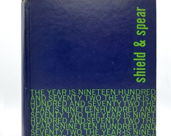 Cedar Park Jr. High School Yearbook (Annual) 1972 - Shield & Spear - Beaverton, Oregon OR - Washington County