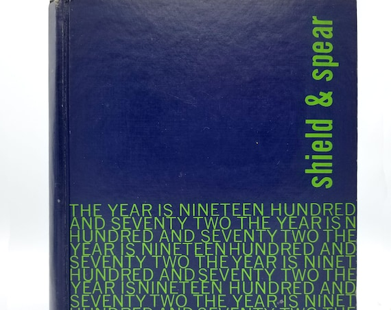 Cedar Park Jr. High School Yearbook (Annual) 1972 - Shield & Spear - Beaverton, Oregon OR - Washington County