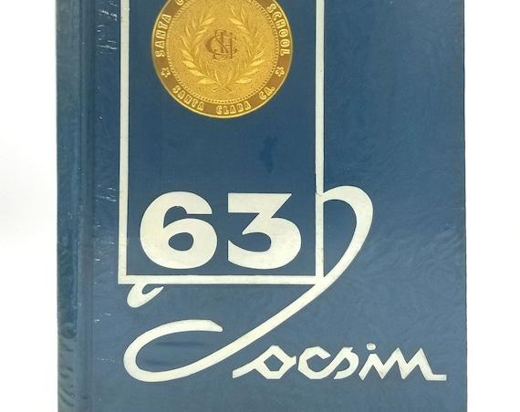 Santa Clara High School Yearbook (Annual) 1963 - Tocsin - California CA