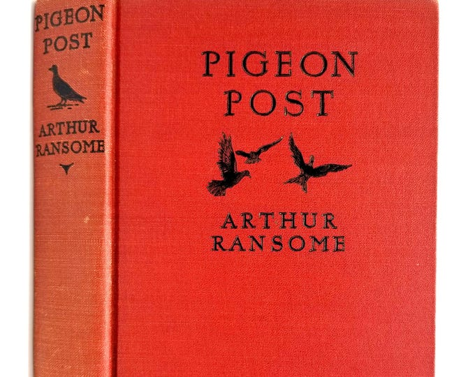 Pigeon Post by Arthur Ransome 1937 Illustrated by Mary E. Shepard Adventure Fiction YA Juvenile 1st American Edition Hardcover HC