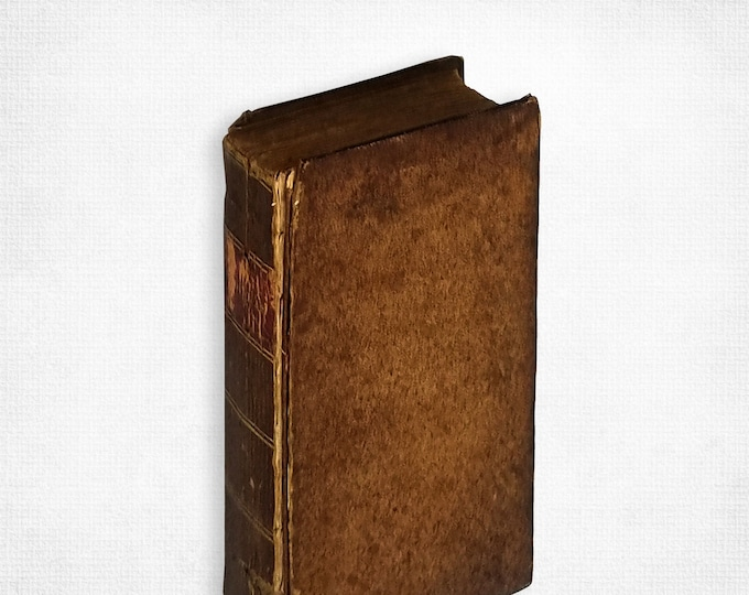 Hudibras, with a Life of the Author, Annotations, and an Index by Samuel Butler Hardcover 1828 Poetry Satirical Poem