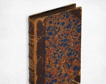 History of the Harvard Church in Charlestown 1815-1879 Leather bound Hardcover Boston 1879 Suffolk County Massachusetts