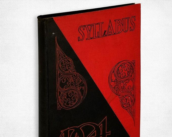 Northwestern University 1904 Syllabus Yearbook (Annual) Evanston, IL Cook County