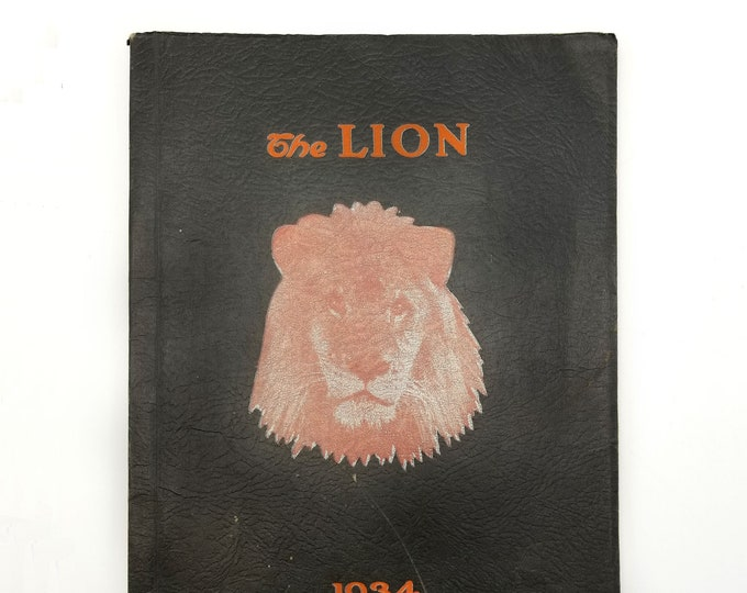 St. Helens High Schooll [Oregon] 1934 The Lion Yearbook Washington County