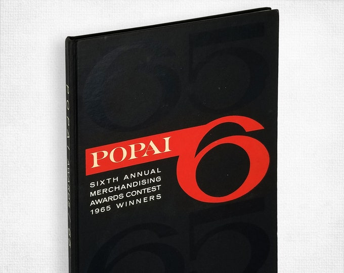 Vintage Advertising Book: POPAI 1965 Awards Yearbook - Winners in POPAI's Sixth Annual Merchandising Awards Contest