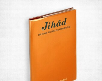 Jihad: The Islamic Doctrine of Permanent War by Suhas Majumdar Hardcover in Dust Jacket 1994 Religious Beliefs