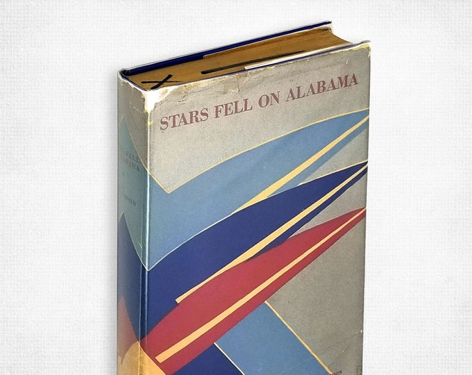 Stars Fell on Alabama by Carl Carmer illustrations by Cyrus LeRoy Baldridge Hardcover in Dust Jacket 1934 Literary Guild